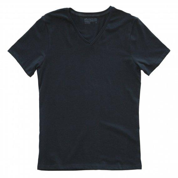 ブレッド&ボクサーズ :VNECK Tシャツ(ブラック)