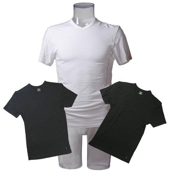 ポロラルフローレン :MODAL V-NECK(ホワイト、ネイビー、ブラック)