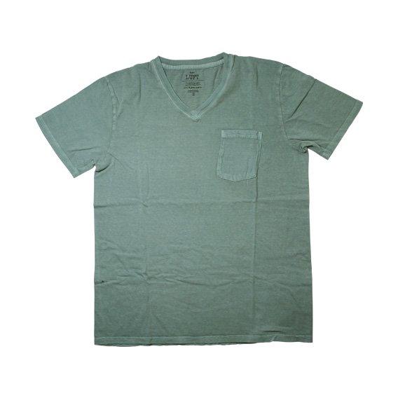 ルフト:TOMEPKINS VネックTシャツ(LUFT-T-02)ライトブルー