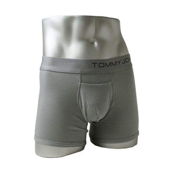 トミージョン:TOMMY JOHN COOL COTTON TRUNK (グレー)