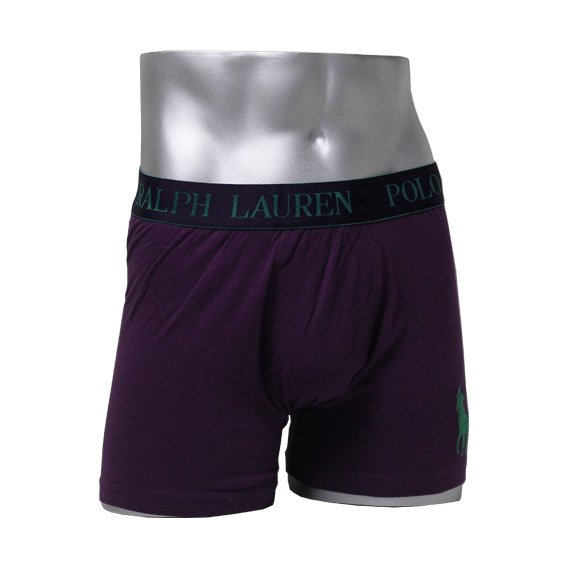ポロラルフローレン :POLO RALPH LAUREN STRETCH POUCH BOXER BRIEF (パープル)