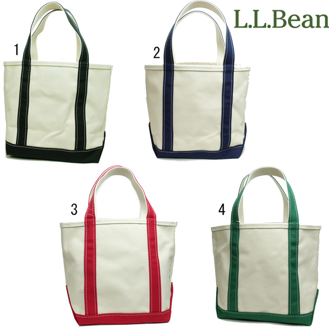 L.L. Bean LL Bean エルエルビーン Boat and Tote Bag Open Top Small ボート アンド トート バッグ オープン トップ S 112635