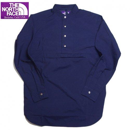 ノースフェイス パープルレーベル ナナミカ Mountain Pullover Shirt マウンテン プルオーバー シャツ 無地 NT3650N NA…