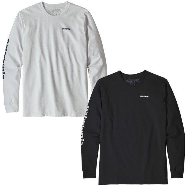 パタゴニア メンズ ロングスリーブ テキスト ロゴ レスポンシビリティー 長袖 Tシャツ ロンT 39042 PATAGONIA