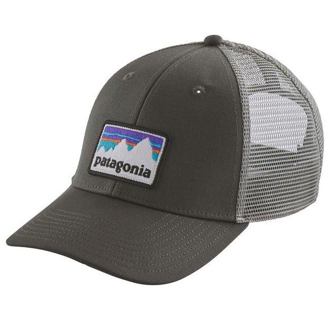 パタゴニア メンズ ショップ ステッカー パッチ ロープロ トラッカー ハット キャップ CAP ベースボール キャップ 帽子 PATAGONIA  38182