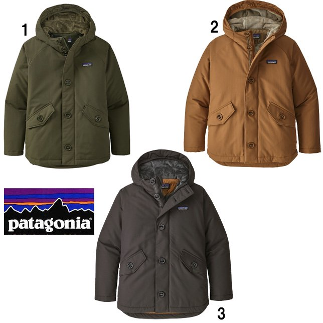 パタゴニア patagonia ボーイズ インサレーテッド イスマス ジャケット ジュニア 子供 パーカー 68045