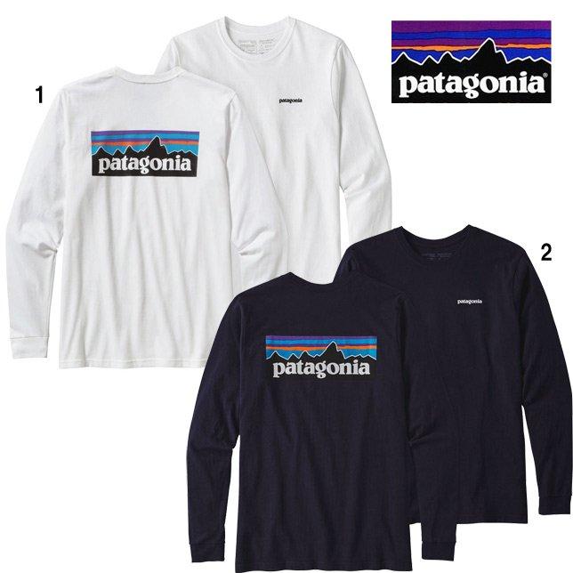 パタゴニア メンズ ロングスリーブ P-6 ロゴ レスポンシビリティー 長袖 Tシャツ ロンT 39161 PATAGONIA