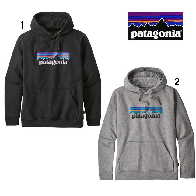 パタゴニア patagonia メンズ P-6ロゴ アップライザル フーディ プリント スウェット パーカー 39539<br />