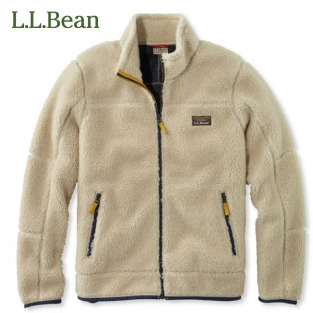 L.L. Bean LL Bean エルエルビーン メンズ マウンテン パイル フリース ジャケット 500368