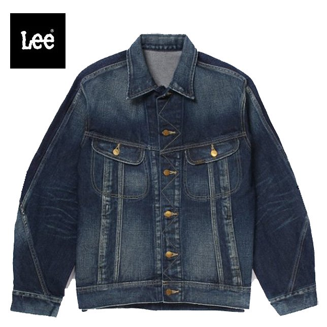 Lee リー デニムジャケット Gジャン L-3 ライダージャケット LM9719-336 濃色ブルー