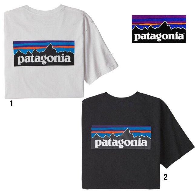 パタゴニア メンズ P-6ロゴ レスポンシビリティー 38504 patagonia メンズ プリントTシャツ