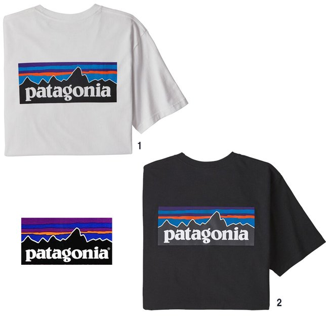 長崎県佐世保市パタゴニア メンズ P-6 ロゴ ポケット レスポンシビリティー 38512 patagonia メンズ ポケ付き プリントTシャツ