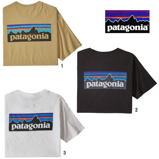 パタゴニア メンズ P-6ロゴ オーガニック Tシャツ 38535 patagonia メンズ プリントTシャツ
