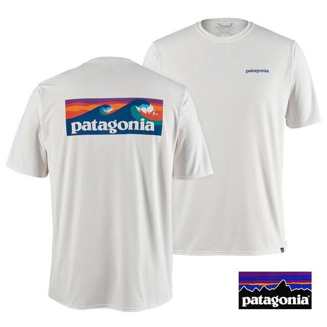パタゴニア patagonia メンズ・キャプリーン クール デイリー グラフィック シャツ Tシャツ 45235