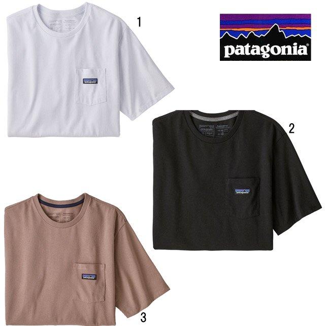 長崎県佐世保市パタゴニア メンズ P-6ラベル ポケット レスポンシビリティー 37406 patagonia メンズ ポケ付き プリントTシャツ