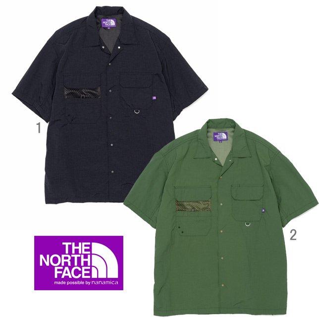 長崎県佐世保市ノースフェイス パープルレーベル Lounge Field H/S Shirt ラウンジ フィルド ハーフスリーブ シャツ NT3116N フィッシングシャツ