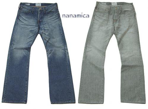 nanamica ナナミカ   5 pocket Denim Pants Bleach ブリーチ加工デニム