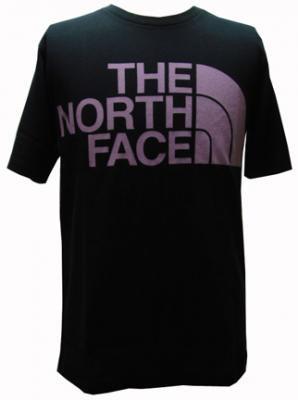 THE NORTH FACE PURPLE LABEL ノースフェイスパープルレーベル ロゴTシャツ ブラック