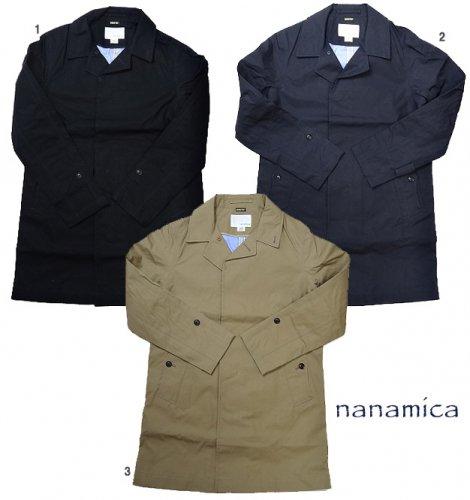 nanamica ナナミカ ゴアテックス ステンカラー コート メンズ ハーフコート