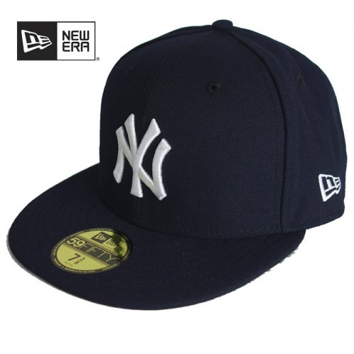 Newera ニューエラ 59FIFTY Team Structured Fitted ニューヨーク・ヤンキース ゲーム CAP キャップ 帽子