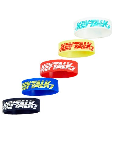 KEYTALK ロゴラバーブレス<img class='new_mark_img2' src='//img.shop-pro.jp/img/new/icons33.gif' style='border:none;display:inline;margin:0px;padding:0px;width:auto;' />