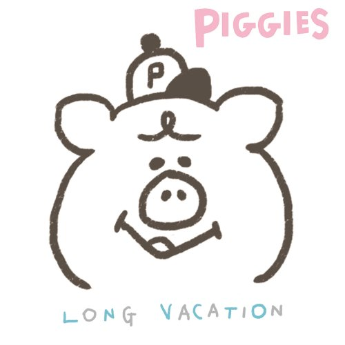 PIGGIES 「LONG VACATION」<img class='new_mark_img2' src='//img.shop-pro.jp/img/new/icons5.gif' style='border:none;display:inline;margin:0px;padding:0px;width:auto;' />