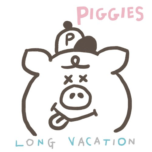 PIGGIES「LONG VACATION」[7 inch record]