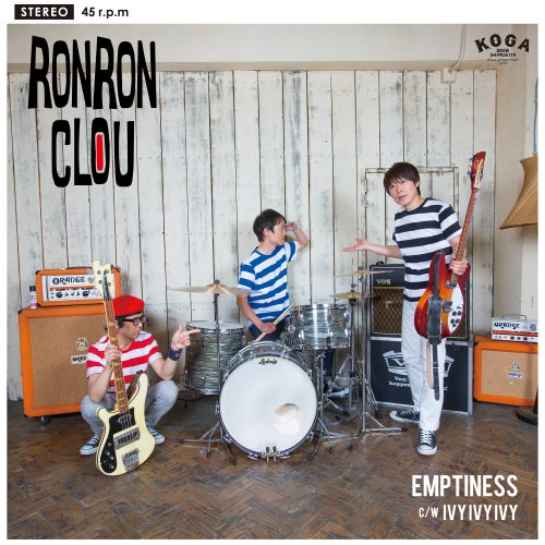 RON RON CLOU「Emptiness」[7 inch record]<img class='new_mark_img2' src='https://img.shop-pro.jp/img/new/icons1.gif' style='border:none;display:inline;margin:0px;padding:0px;width:auto;' />