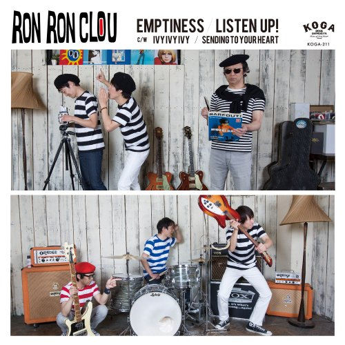 """RON RON CLOU""""EMPTINESS/LISTEN UP!""""(CD)<img class='new_mark_img2' src='https://img.shop-pro.jp/img/new/icons1.gif' style='border:none;display:inline;margin:0px;padding:0px;width:auto;' />"""