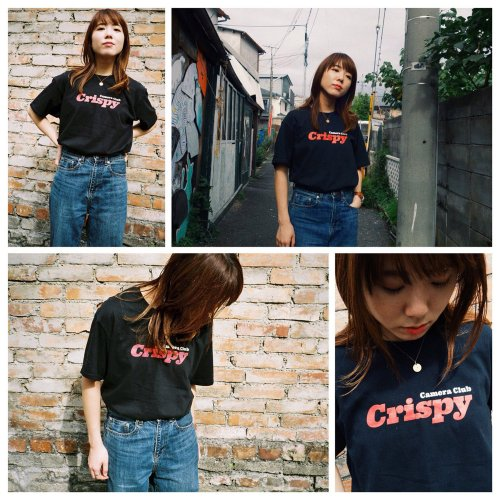 Crispy Camera Club LOGO-Tシャツ