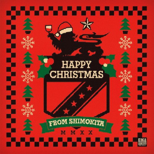 KOGA RECORDS『HAPPY CHRISTMAS FROM SHIMOKITA』エコバッグセット