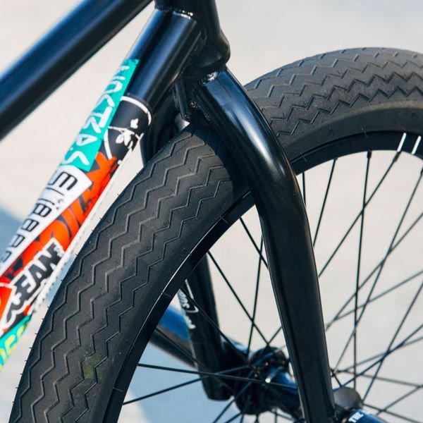1 x SUBROSA SAWTOOTH BMX BIKE BICYCLE TIRE 20 x 2.35 FIT CULT HARO SHADOW BLACK