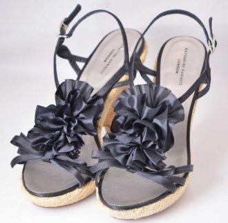 (6466) 【その他】 キャサリンハムネット サンダル ブラック L [靴]