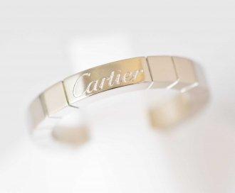 (6772) 【カルティエ】 カルティエ Cartier 750WG ホワイトゴールド リング 49号 [ブランドジュエリー]