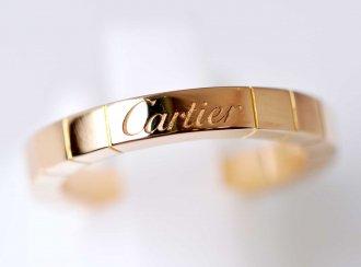 (6796) 【カルティエ】 カルティエ Cartier 750PG ピンクゴールド ラニエールリング 50号 [ブランドジュエリー]
