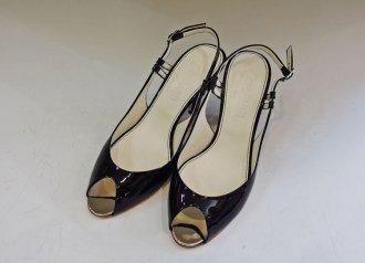 (7174) 【シャネル】 シャネル オープントゥ サンダル [靴]