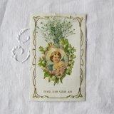 鈴蘭と天使のポストカード