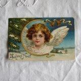 天使のクリスマスカード