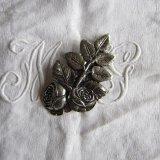ヴィンテージ装飾パーツ薔薇クラフト
