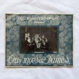 アンティーク手芸カタログ1920年プランタン刺繍レース
