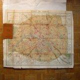 Nouveau Plan de Paris1911年パリの古地図