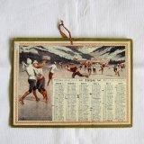 アンティークカレンダー1936年