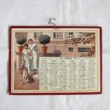アンティークカレンダー1937年