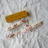 イニシャル刺繍テープAR