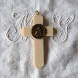 ゆりかご用十字架メダイ天使ラフェエロ