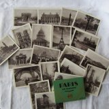Parisの古い写真20枚セット2