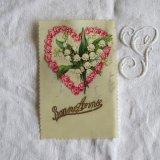 鈴蘭ローズのセルロイド新年カード