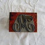 刺繍用モノグラムAスタンプ