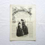 服飾新聞19世紀LE MONITEUR DE LA MODE