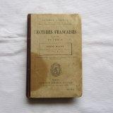 19世紀LECTURE FRANCAISES教科書